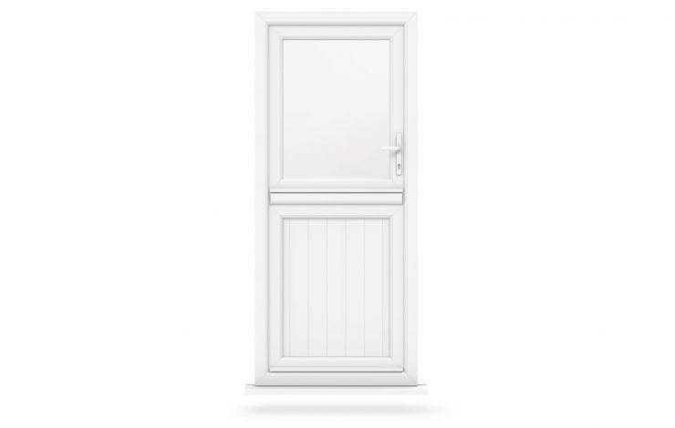 white stable doors